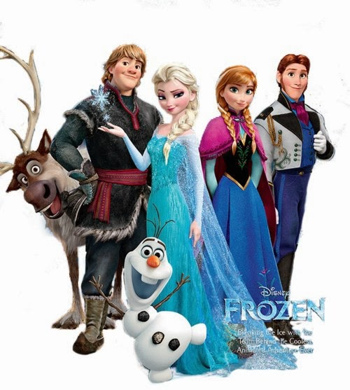 Frases dos Personagens de Frozen
