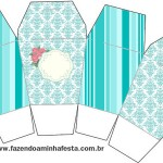 Caixa China in  Box Azul Tiffany:
