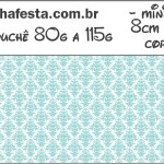 Mini Disqueti Azul Tiffany: