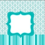 Mini Confeti Azul Tiffany: