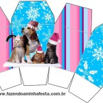 Caixa China in Box Natal Cães e Gatos: