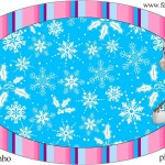 Placa Natal Frozen: