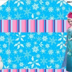 Envelope Natal Frozen: