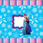 Mini Confeti Natal Frozen: